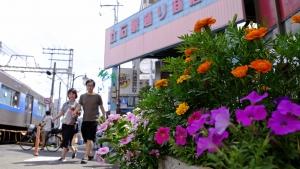 街も、人も、花も元気に